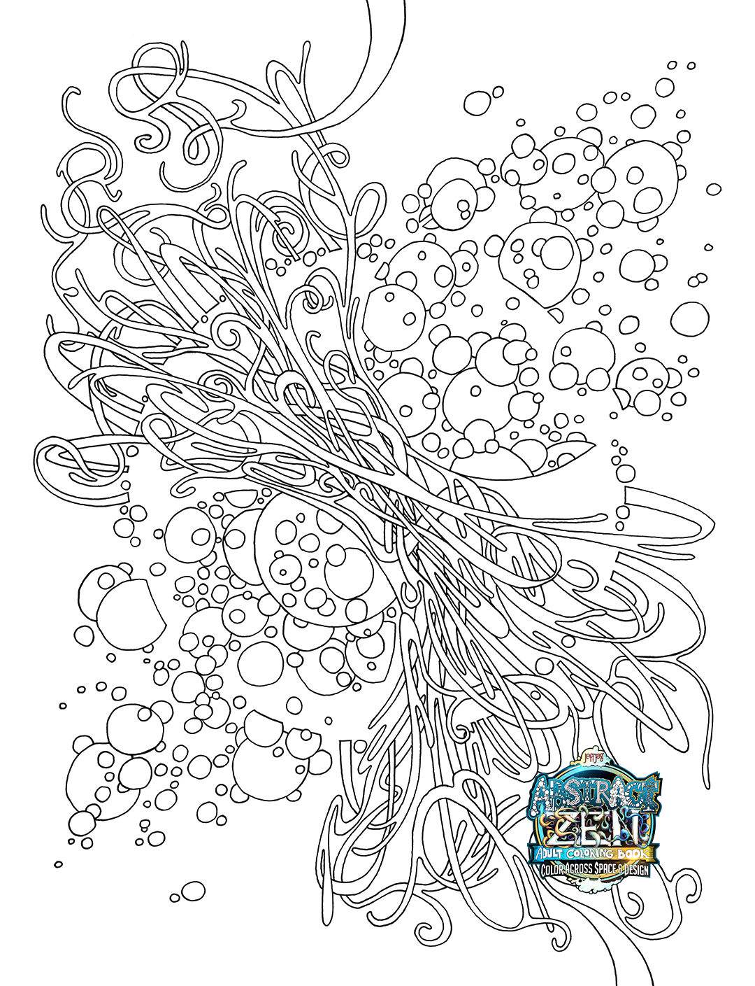 the migration of the electron - Botany Coloring Book