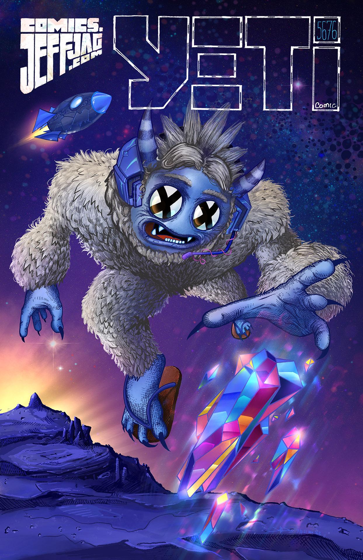 Yeticomic.com #JeffJag of Super Yeti #5676